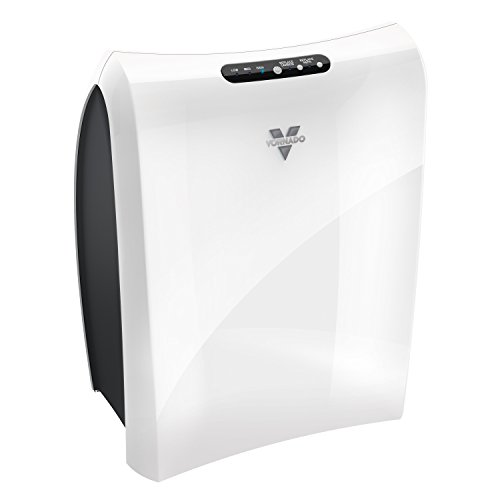 Vornado AC350 Air Purifier with True HEPA Filter, Captures Allergens, Smoke, Odors, Pollen, Dust, Mold Spores, Pet Dander