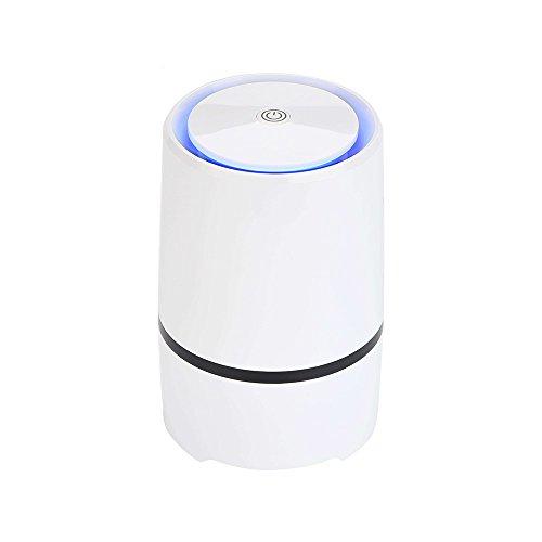 RIGOGLIOSO Portable Desktop anion sterilization Air Purifier Remove Cigarette Smoke, Odor Smell, Bacteria