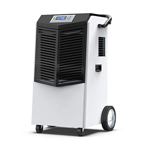 COLZER 232 PPD Commercial Dehumidifier, Large Industrial Dehumidifier with Hose for Basements, Warehouse & Job Sites Clean-Up, Flood, Water Damage Restoration - Moisture Removal Up to 29 Gallons/Day