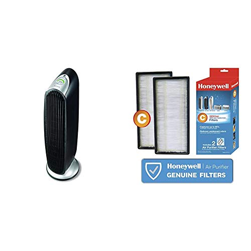 Honeywell HFD-120-Q QuietClean Oscillating Air Purifier with Permanent Washable Filters