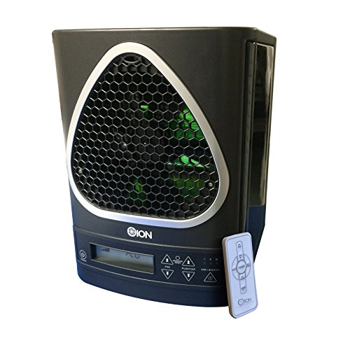OION LB-8001 5-in-1 Air Cleaning System with True HEPA, UV-C, Ionizer, PCO Filtration, and Odor Reduction Air Purifier