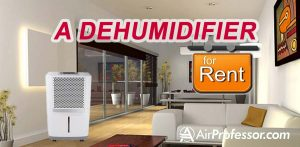 Renting a Dehumidifier; Is It Better Than Purchasing One?